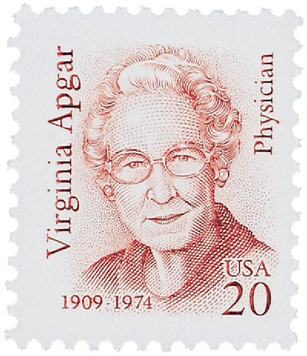Virginia Apgar stamp photo