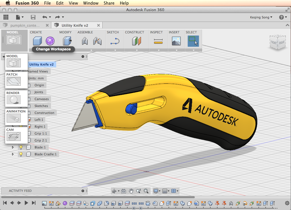 Autodesk Fusion 360 screenshot