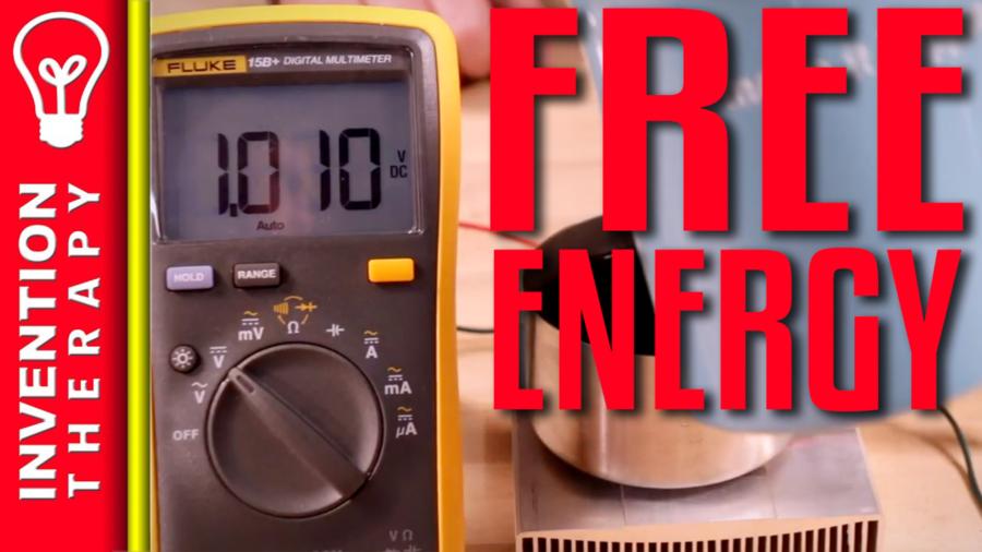 Free Energy Perpetual Motion Machine